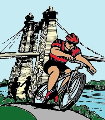 Bike tour graphic